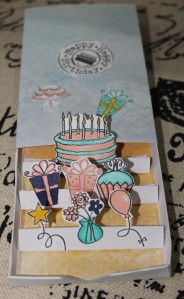 Happy Birthday Matchbox Card