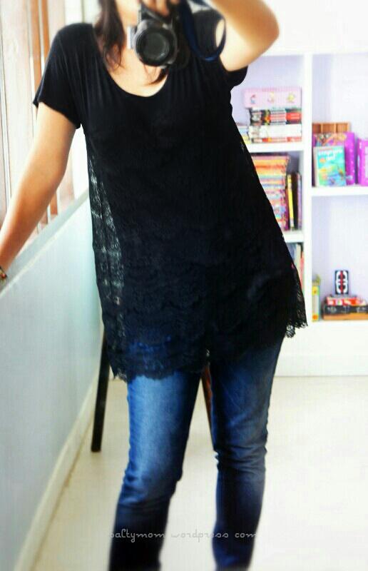lace tshirt diy2