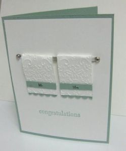 Original Couples Towel Card
