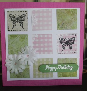 Square Tile Card