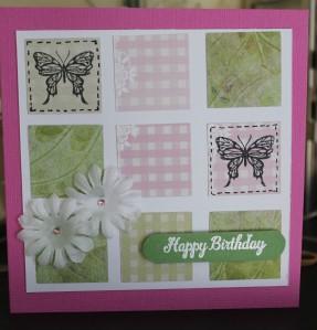 Square Tile Card