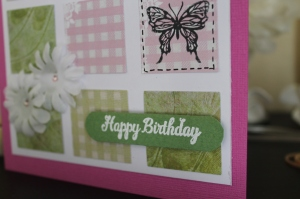 Details on Square Tile Card