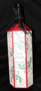Christmas Wine Bottle Gift Box