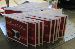 Thank You Cards ready to go