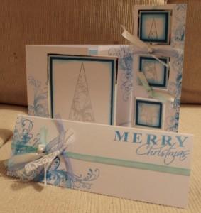 Kaszazz Card Workshop Whimsical Christmas Cards